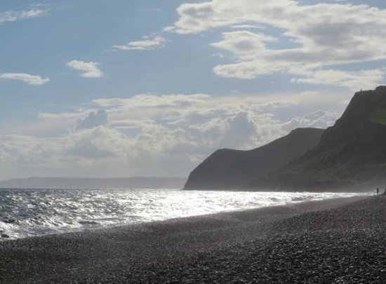 Eype's Mouth Country Hotel: Eype Beach