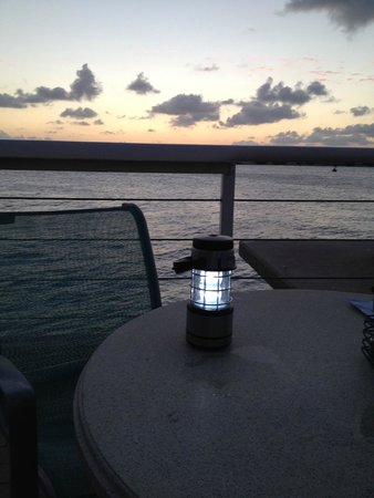Sunset Pier : No pier do Bistrô