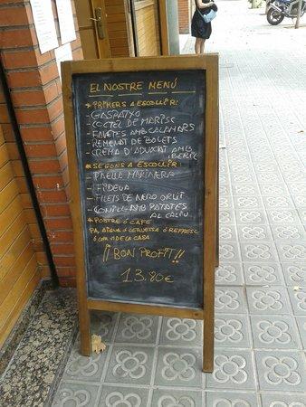 Restaurant Koxkera: Menu du jour à 13.80€