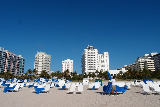 Loews Miami Beach Hotel: from beach to the hotel