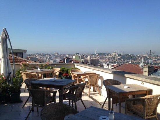 Adahan Istanbul : Rooftop terrace