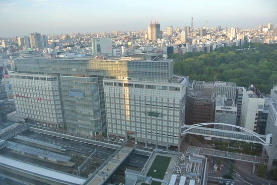 Hotel Century Southern Tower: Overlooking Shinjuku Station and Nearby Shopping