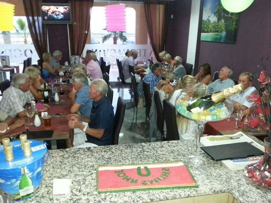 Party at the dream international restaurant