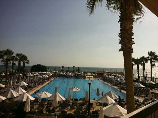 Mövenpick Hotel Beirut: view from our room