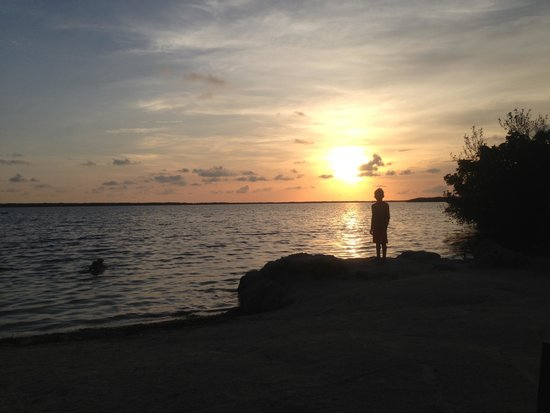 Hampton Inn Key Largo : Sunset perfect
