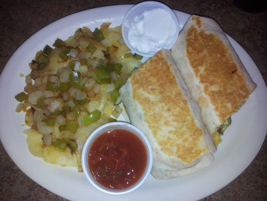 Lulu's Diner: New Breakfast Burrito