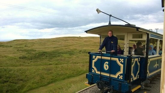 Great Orme Tramway: A tram