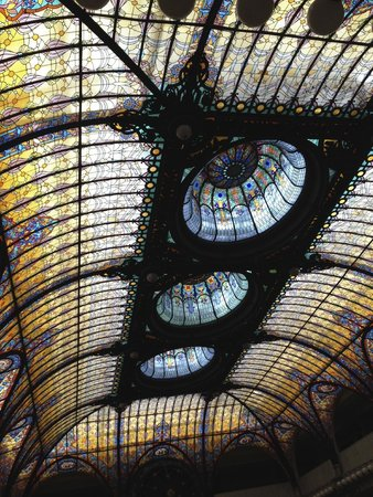 Gran Hotel Ciudad de Mexico : Stained-glass window
