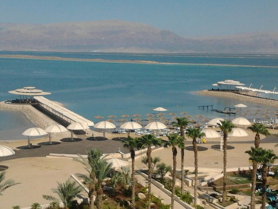 Herods Hotel Dead Sea : View from room 509
