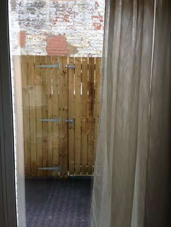 Hampton by Hilton York: The view from the window.