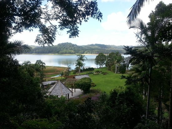 Secrets on the Lake: View from balcony