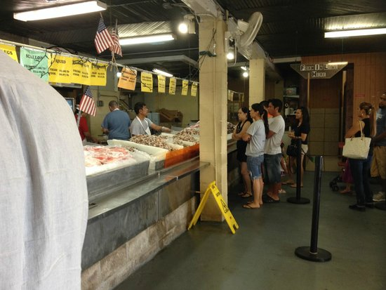 End Of The Line To Order Fresh Seafood Picture Pier 8