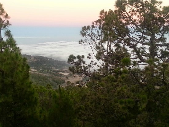 Sandos San Blas Nature Resort & Golf: On top of the world on the Mount Tiede by night tour