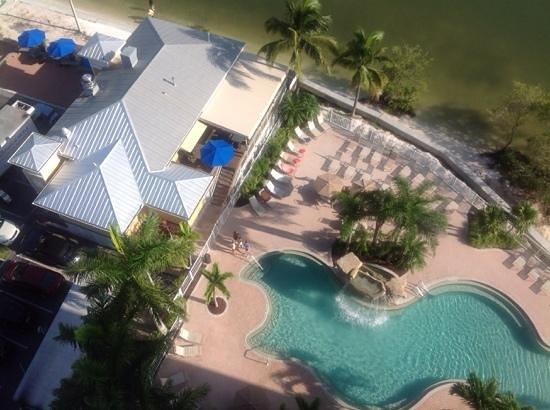 Lovers Key Resort: 12th floor view of the pool