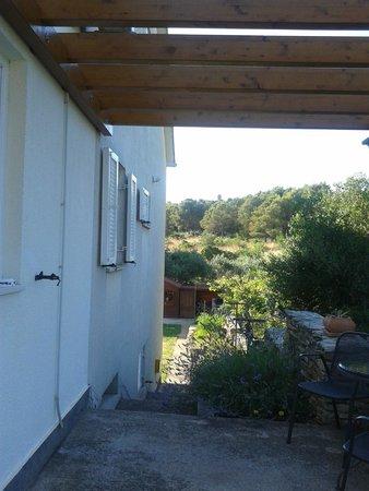 Villa Mandolina Apartments : Terraza
