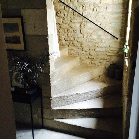 Monte Arena: Internal staircase