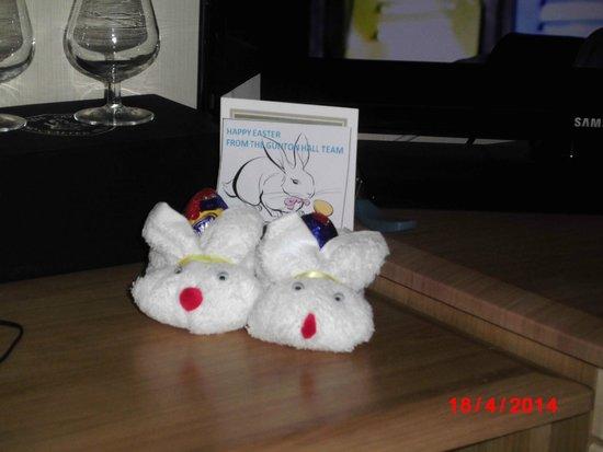 Warner Leisure Hotels Gunton Hall Coastal Village: Easter bunnies from Gunton Hall