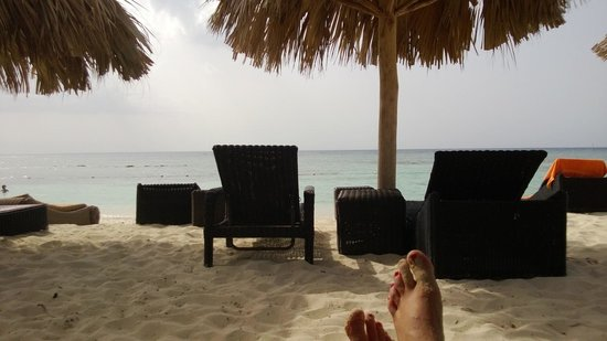 Secrets St. James Montego Bay: View from Beach Chair
