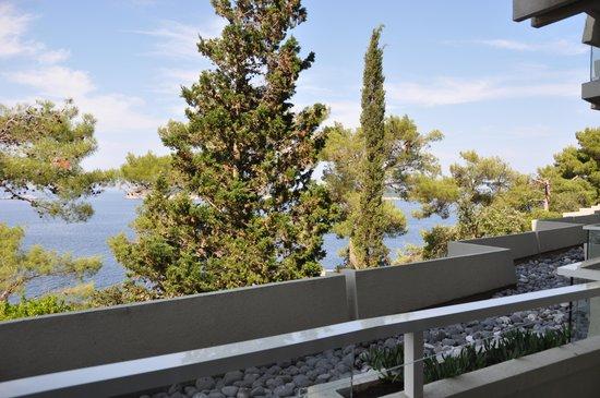 Hotel Croatia Cavtat : Photo chambre vue sur mer..!!?