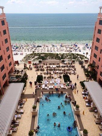 Hyatt Regency Clearwater Beach Resort & Spa: View from the 16th floor