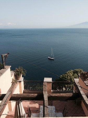 La Tonnarella : View from the main balcony