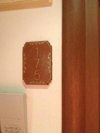 Hotel Atlantic Palace : numero de chambre