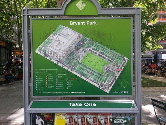 Bryant Park : E non perdersi