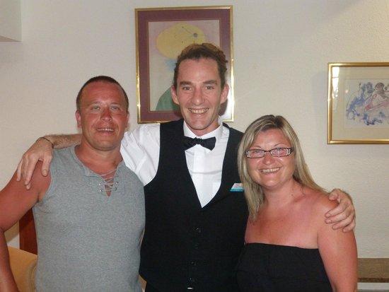 Hotel Cala Ferrera : avec Greg