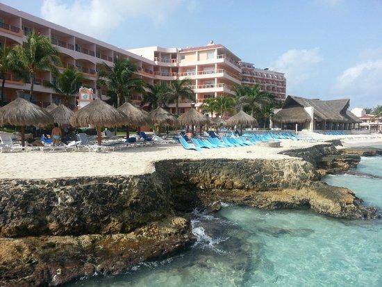 El Cozumeleno Beach Resort : View from pier