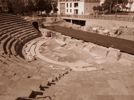Teatro Romano de Málaga: inside the theatre