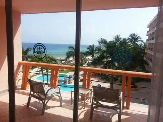 El Cozumeleno Beach Resort : View from room 316