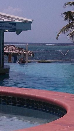 Morritts Tortuga Club and Resort: View from Grand Pool