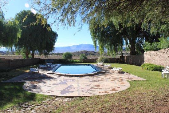 Hacienda de Molinos: Piscine extérieure