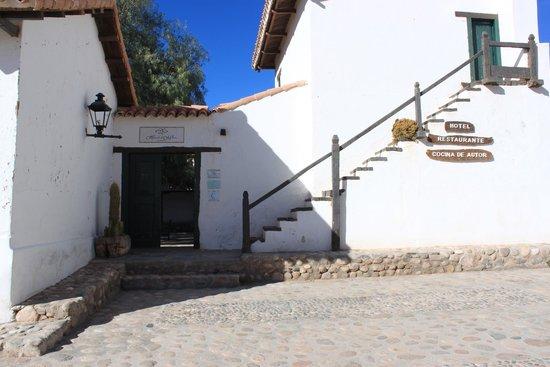 Hacienda de Molinos: Entrée de la hacienda