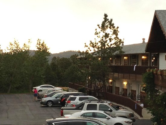 Bavarian Inn: One of two room units with sunset view