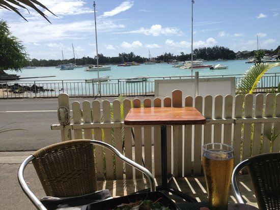 Blue Lagoon Cafe: La vue