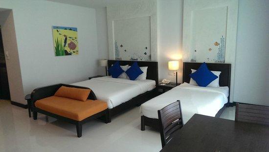 Krabi Aquamarine Resort & Spa: Spacious room