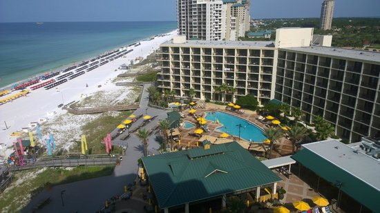 Hilton Sandestin Beach, Golf Resort & Spa: View from room
