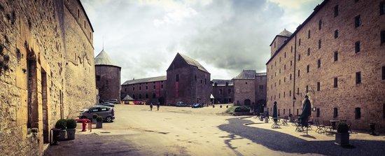 Château Fort de Sedan : The inside of the castle