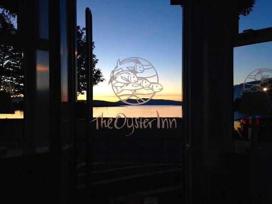 Oyster Inn: View from Reception