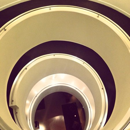 Andaz London Liverpool Street: Spiral staircase