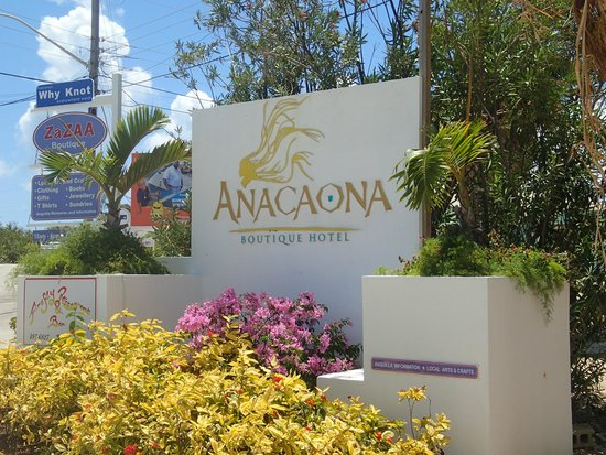 Anacaona Boutique Hotel: Front entrance