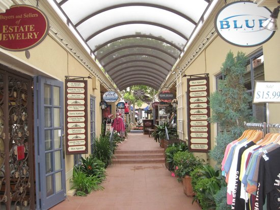 La Jolla Shores Park: Shopping im La Jolla Village