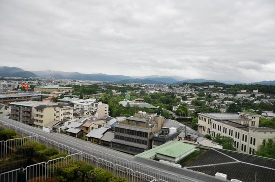 The Westin Miyako Kyoto : View from our room