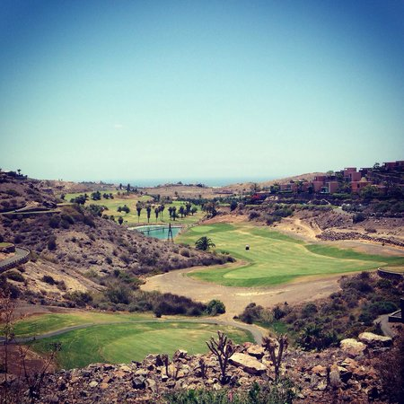 Sheraton Gran Canaria Salobre Golf Resort : The 'Old' golf course, the easier of the two