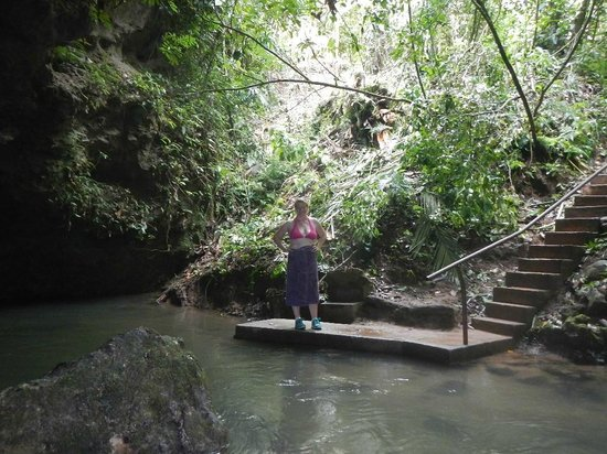 Blue Hole National Park: The Platform
