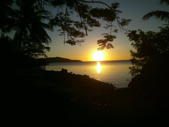 Wananavu Beach Resort: Beautiful sunsets