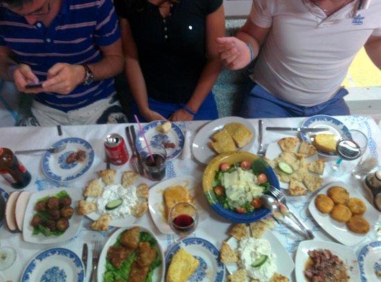 Taverna Manolis: entrées