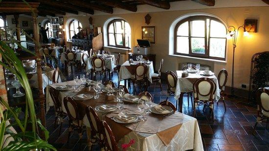 Hotel Rotelle: sala ristorante