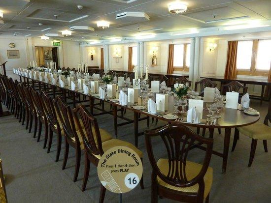 Britannia (navire) : Dining Room del Britannia
